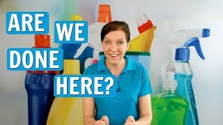 How to End a Job, Get Paid, and Leave - House Cleaning & Maids