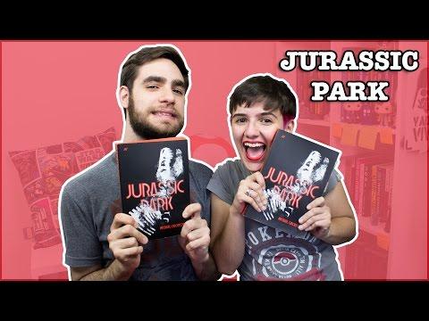 Jurassic Park (Michael Crichton) + SORTEIO | Clássicos da Ficção Científica #28