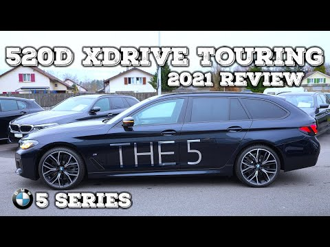 New BMW 5 Series 520d xDrive Touring 2021 Review Interior Exterior