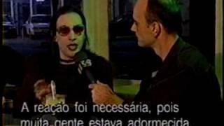 Marilyn Manson - Brazil - 1997 - MTV