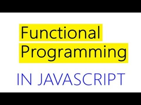 JavaScript Functional Programming Tutorial