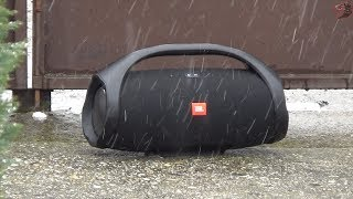 JBL Boombox kint a hóban!! :D