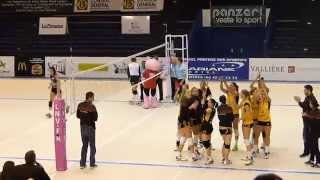 preview picture of video 'Volley ball Féminin - Istres VS Cannes -  24/01/2015'