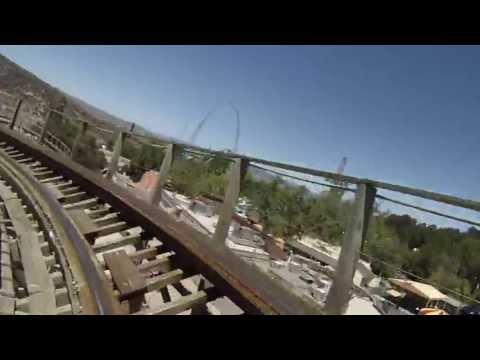 six flags apocalypse roller coaster