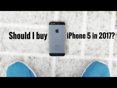 Should I buy iPhone 5 in 2017?