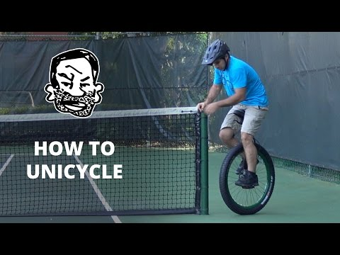 How to ride a unicycle – 10 tips