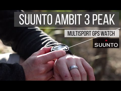 Suunto Ambit3 Peak Black - Multisport GPS Watch