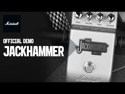 MARSHALL JH-1 Jackhammer Kytarový efekt