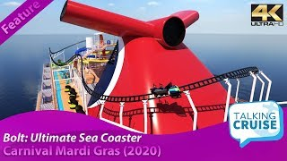 Carnival Mardi Gras - Cruise Ship Roller Coaster (Preview)