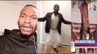 Listen What He His Saying  ? / African American Returning Home (19 Feb 2019 ) Rawpa Crawpa #Vlogs