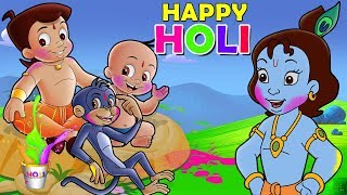 Chhota Bheem   Holi In Vrindavan | Holi Special Video Song 2019