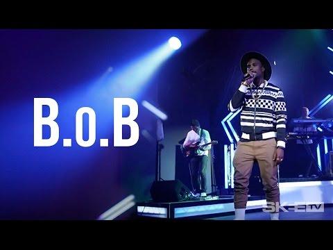 Playing with b.o.b on Skee tv