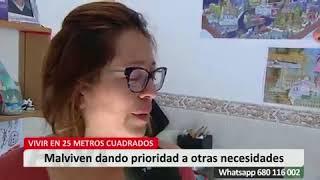 Reportaje sobre la situación en la que viven los vecinos de #SalvaPeironcely10 emitido en el program