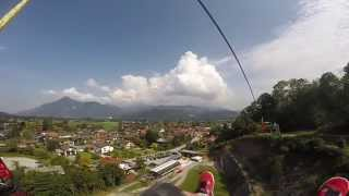 preview picture of video 'Hocheck ZipLine 2014'