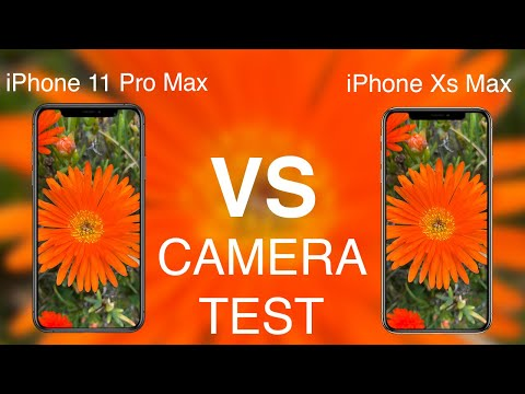 iPhone 11 Pro Max vs iPhone Xs Max CAMERA TEST!