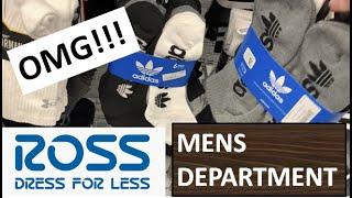 ROSS DRESS FOR LESS MENS EDITION! SHOES SNAPBACKS ADIDAS NIKE CHAMPION MICHAEL KORS TOMMY HILFIGER