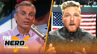 Pat McAfee joins Colin Cowherd to discuss Andrew Luck's retirement | NFL | THE HERD