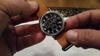 Timex Weekender Chronograph Review- 40 mm Budget Chrono. Offering from Timex