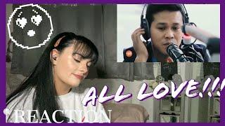 Power of Love-Marcelino Pomoy- IRISH GIRL REACTION//LOLY #MarcelitoPomoy #reaction