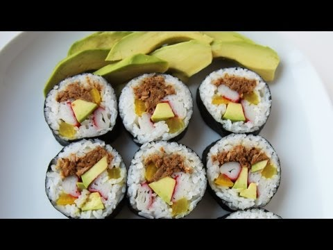 How to make tuna gimbap