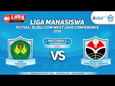 STKIP VS UPI   LIMA FUTSAL : BLIBLI.COM WEST JAVA CONFERENCE 2018