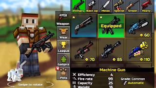 Pixel Gun 3D Gameplay Walkthrough Android / iOS | Winning Deathmatch and Team Fight Multiplayer
