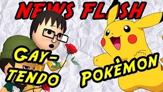 No gay love from Nintendo and a new Pokémon - News flash