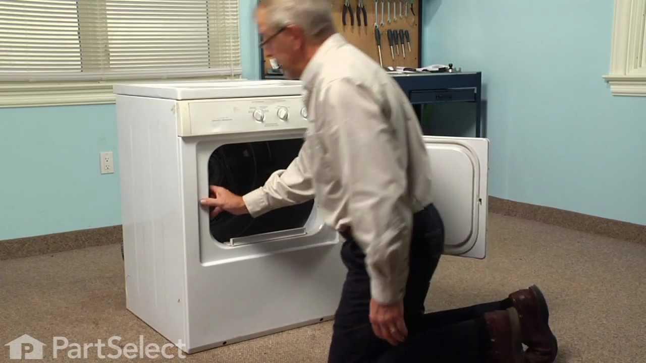 Replacing your Frigidaire Dryer Door Latch Kit