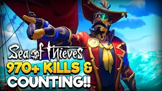 Sea of Thieves LIVE - 970+⭐Arena⭐Kills & Counting - Adventure & Arena