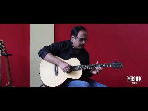 Grail SD210E Mini Solid Spruce Top Semi Acoustic Guitar with Fishman Pickup