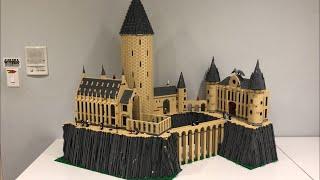 HUGE Lego Hogwarts Castle MOC