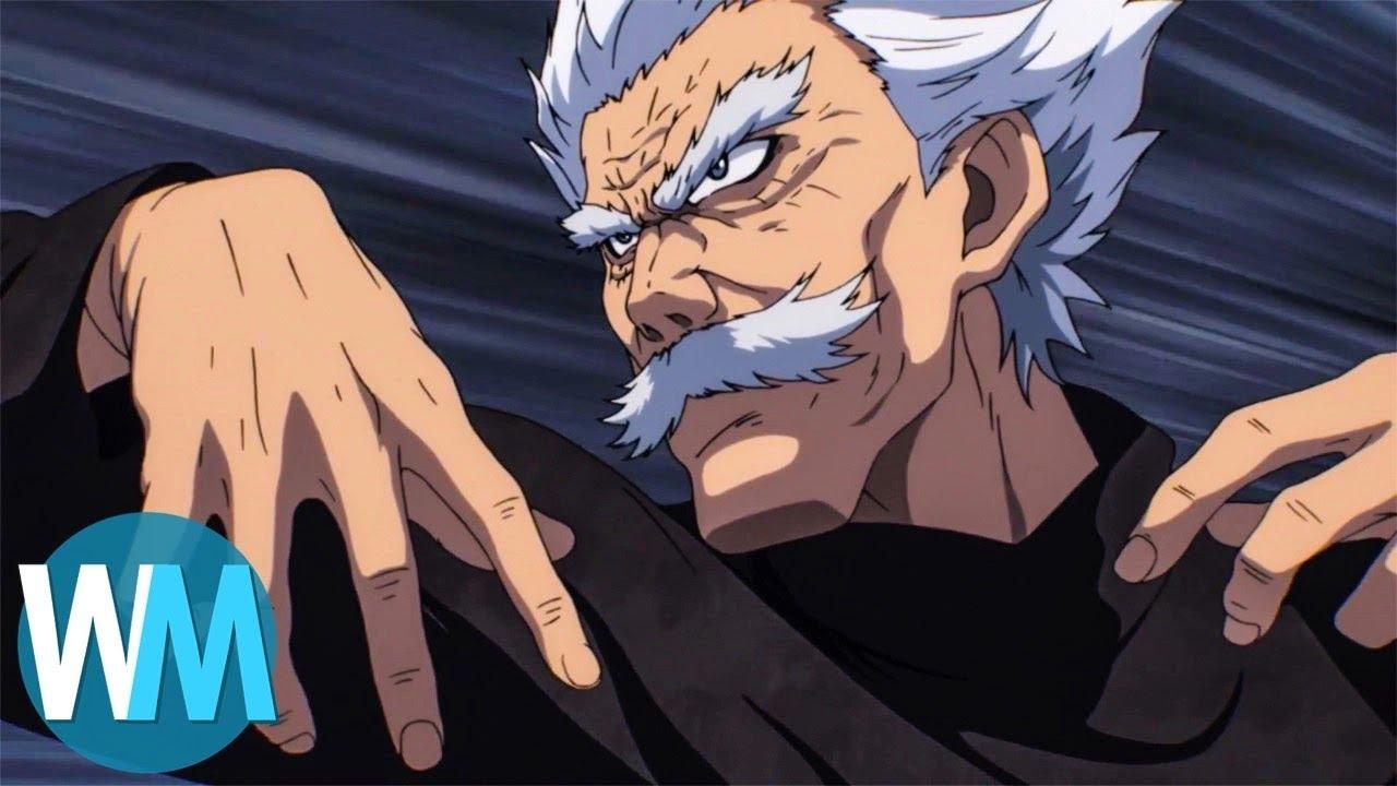 WatchMojo | top ten best martial arts/fighting anime series