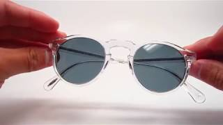 Oliver Peoples OV 5217S Gregory Peck 1101R8 Sunglasses Review Unboxing