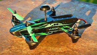 Black & Green Vusion Racer 250 Beginner FPV Racing Drone - TheRcSaylors