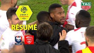 SM Caen - Nîmes Olympique ( 1-2 ) - Résumé - (SMC - NIMES) / 2018-19