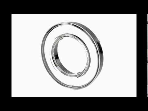 Декоративное кольцо, хром. D55мм/98мм