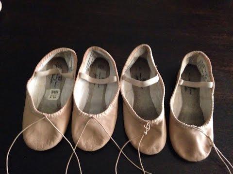 Como hacer zapatillas de media punta para ballet DIY