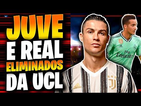 Juventus ELIMINADA da Champions League com 2 gols de Cristiano Ronaldo – Man City DETONA Real Madrid
