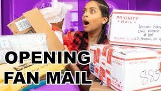 OPENING PO BOX FAN MAIL