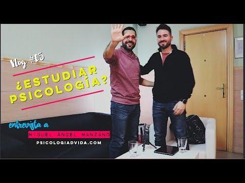 ¿Estudiar Psicología? Entrevista Miguel Ángel Manzano. Vlog #05