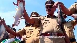 Trivandrum Sub jail : Jail inmates took harvest from vegetables and fish farm
