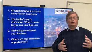 INNOVATION: Discover what every leader needs to know to keep their business innovative.