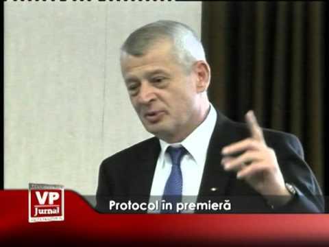 Protocol în premieră