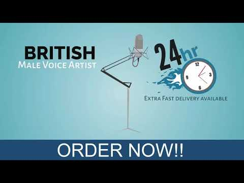 Freelance British voice over services online - fivesquid