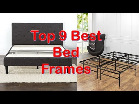 Top 9 Best Bed Frames 2018 You Can Buy From Amazon