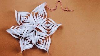 Christmas Craft: How To Make A Christmas Star