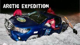 2  Экспедиция на Toyota Hilux в Арктику, как люди живут на севере Таймыра (север России) Арктика.