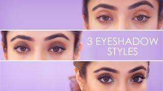 3 Simple Eyeshadow Styles   How To Apply Eyeshadow   Eye Makeup Tutorial   BeBeautiful