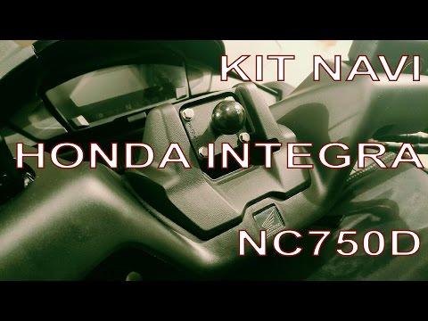 Montiamo il Kit Navi nell' Honda Integra NC750D