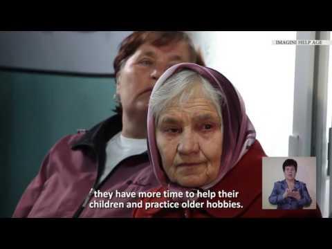 Îmbătrânirea activă în Moldova